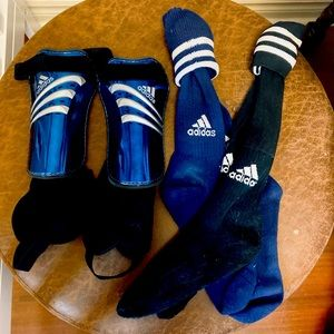 2 for $40 | Adidas | Soccer Shin pads and socks